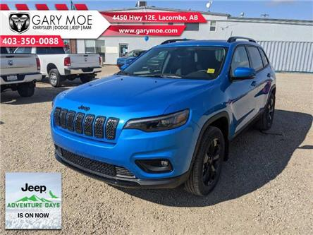 2021 Jeep Cherokee Altitude (Stk: F212520) in Lacombe - Image 1 of 22