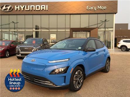 2022 Hyundai Kona Electric Preferred Two-Tone (Stk: 2KN9921) in Red Deer - Image 1 of 10