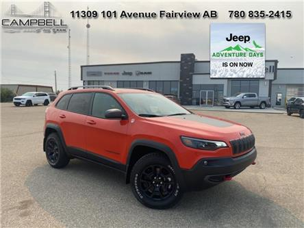 2021 Jeep Cherokee Trailhawk (Stk: 10668) in Fairview - Image 1 of 18