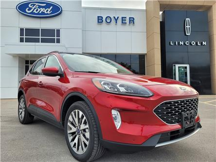 2021 Ford Escape Titanium (Stk: ES3274) in Bobcaygeon - Image 1 of 27