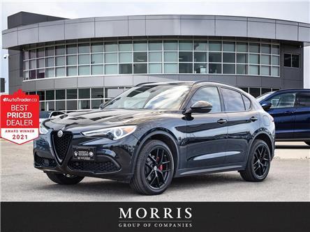 2018 Alfa Romeo Stelvio ti (Stk: 4643) in Winnipeg - Image 1 of 25