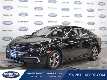 2020 Honda Civic LX (Stk: 21RA44A) in Owen Sound - Image 1 of 25