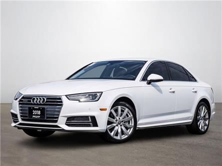 2018 Audi A4 2.0T Komfort (Stk: T19672A) in Vaughan - Image 1 of 21