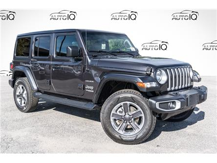 2021 Jeep Wrangler Unlimited Sahara (Stk: 35380D) in Barrie - Image 1 of 25