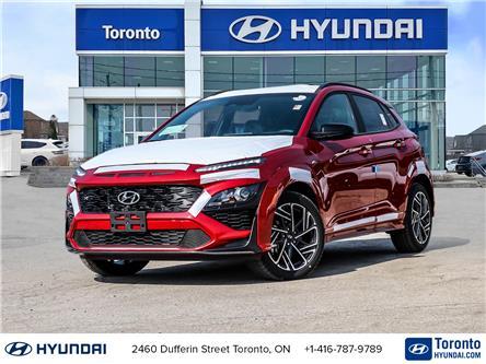 2022 Hyundai Kona 1.6T N Line (Stk: N23465) in Toronto - Image 1 of 30