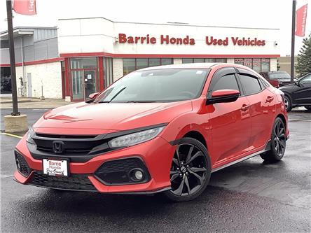 2018 Honda Civic Sport Touring (Stk: 11-U18320) in Barrie - Image 1 of 22