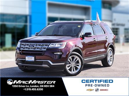 2019 Ford Explorer Limited (Stk: 210840A) in London - Image 1 of 23