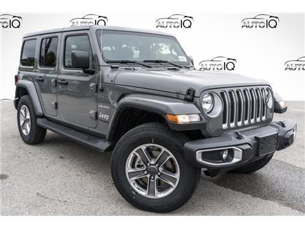 2021 Jeep Wrangler Unlimited Sahara (Stk: 35382D) in Barrie - Image 1 of 25