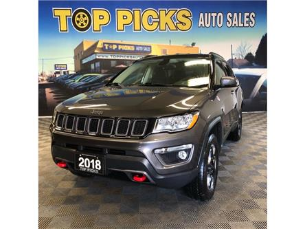 2018 Jeep Compass Trailhawk (Stk: 412525) in NORTH BAY - Image 1 of 30