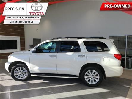 2016 Toyota Sequoia Platinum (Stk: 214381) in Brandon - Image 1 of 30