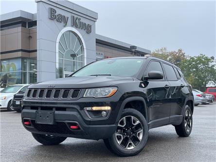 2018 Jeep Compass Trailhawk (Stk: 217178B) in Hamilton - Image 1 of 9