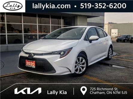 2020 Toyota Corolla LE (Stk: K4160) in Chatham - Image 1 of 27