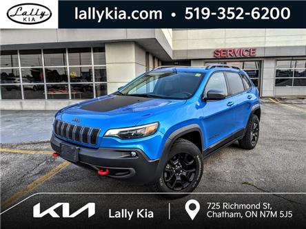 2019 Jeep Cherokee Trailhawk (Stk: K4181) in Chatham - Image 1 of 29