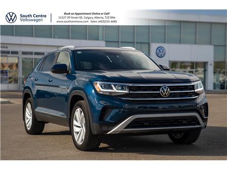 2021 Volkswagen Atlas Cross Sport 3.6 FSI Highline (Stk: 10436) in Calgary - Image 1 of 44