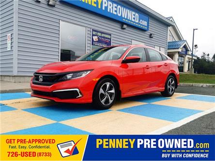 2021 Honda Civic LX (Stk: 40998A) in Mount Pearl - Image 1 of 14