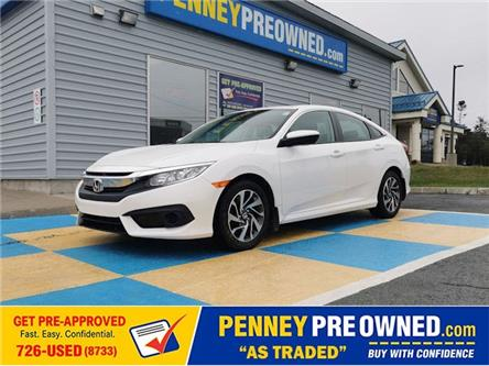 2017 Honda Civic EX (Stk: N40991A) in Mount Pearl - Image 1 of 16