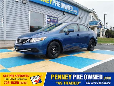 2015 Honda Civic LX (Stk: 40958A) in Mount Pearl - Image 1 of 12