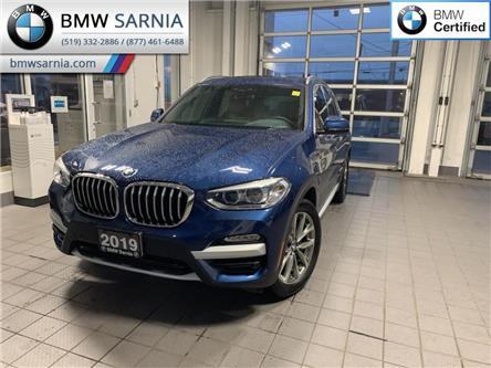 2019 BMW X3 xDrive30i (Stk: XU458) in Sarnia - Image 1 of 11