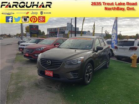 2016 Mazda CX-5 GT (Stk: 21279A) in North Bay - Image 1 of 30