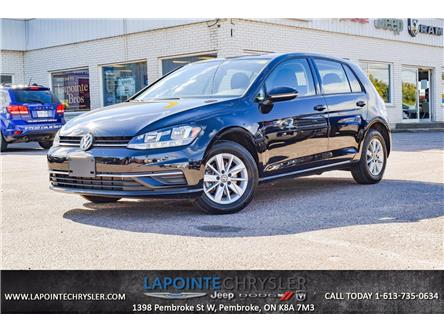 2019 Volkswagen Golf 1.4 TSI Comfortline (Stk: P3831) in Pembroke - Image 1 of 28