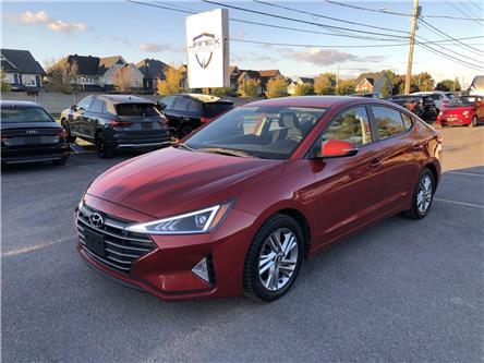 2019 Hyundai Elantra Preferred (Stk: 21361) in Ottawa - Image 1 of 22