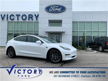 2020 Tesla Model 3 Standard Range (Stk: V4031) in Chatham - Image 1 of 23