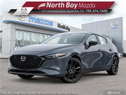 2021 Mazda Mazda3 Sport GT w/Turbo (Stk: 21254) in North Bay - Image 1 of 11