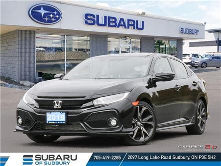 2019 Honda Civic Sport Touring (Stk: US1268) in Sudbury - Image 1 of 26