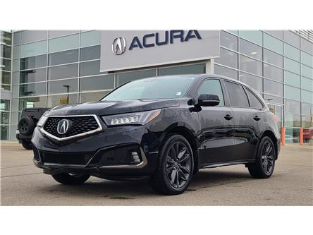 2020 Acura MDX A-Spec (Stk: A4567) in Saskatoon - Image 1 of 19