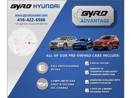2020 Hyundai Elantra Preferred (Stk: H6980A) in Toronto - Image 1 of 2