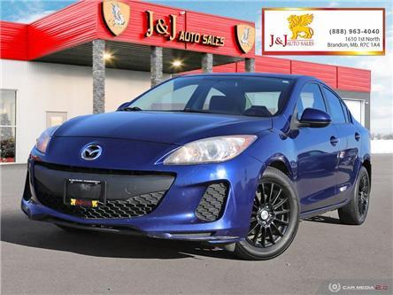 2013 Mazda Mazda3 GX (Stk: J21154) in Brandon - Image 1 of 27
