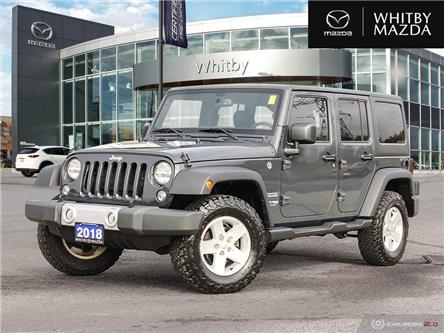 2018 Jeep Wrangler JK Unlimited Sport (Stk: 210781A) in Whitby - Image 1 of 27