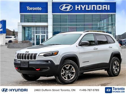 2019 Jeep Cherokee Trailhawk (Stk: U07317) in Toronto - Image 1 of 28
