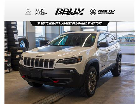 2020 Jeep Cherokee Trailhawk (Stk: V1686) in Prince Albert - Image 1 of 14