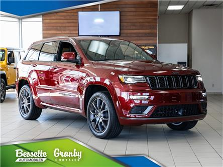 2021 Jeep Grand Cherokee Overland (Stk: G1-0375) in Granby - Image 1 of 37