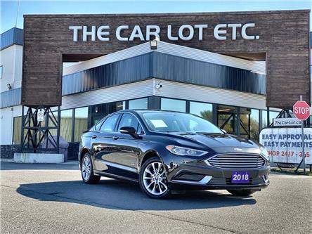 2018 Ford Fusion Energi SE Luxury (Stk: 21574) in Sudbury - Image 1 of 27