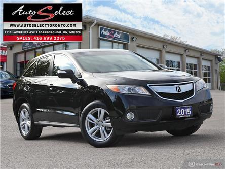 2015 Acura RDX AWD (Stk: 1FL80518) in Scarborough - Image 1 of 28