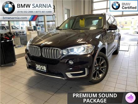 2018 BMW X5 xDrive35i (Stk: XU456) in Sarnia - Image 1 of 11