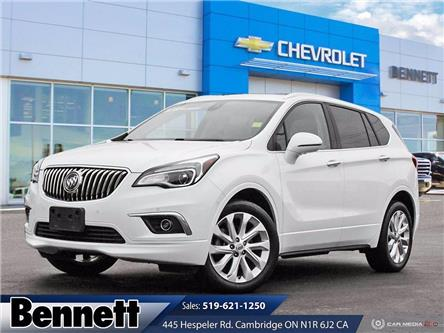 2017 Buick Envision Premium II (Stk: 210896A) in Cambridge - Image 1 of 27