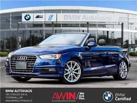 2015 Audi A3 2.0T Komfort (Stk: P10954) in Thornhill - Image 1 of 27