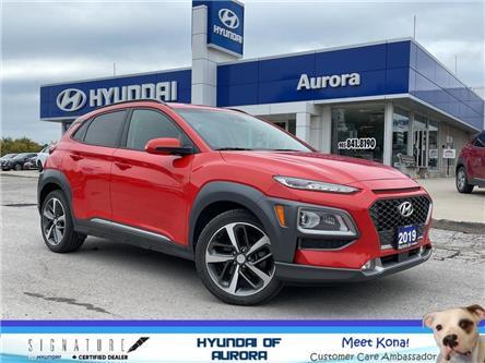 2019 Hyundai Kona 1.6T Ultimate (Stk: L5303) in Aurora - Image 1 of 22