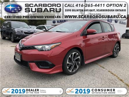 2017 Toyota Corolla iM Base (Stk: HJ529280) in Scarborough - Image 1 of 18