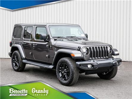 2021 Jeep Wrangler Unlimited Sahara (Stk: B21-451) in Cowansville - Image 1 of 30