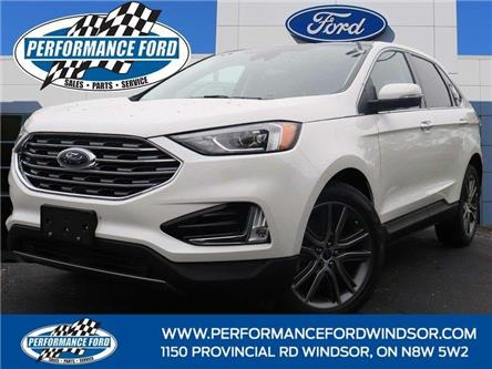 2021 Ford Edge Titanium (Stk: EG52167) in Windsor - Image 1 of 17
