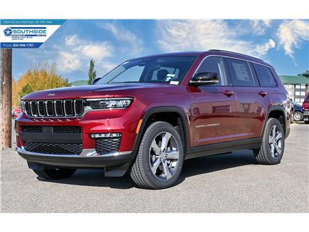 2021 Jeep Grand Cherokee L Limited (Stk: GC2176) in Red Deer - Image 1 of 29