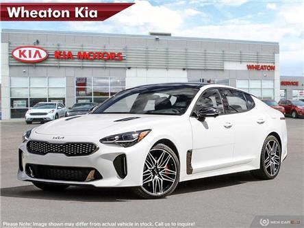 2022 Kia Stinger GT Elite - Suede Package (Stk: N10876) in Regina - Image 1 of 11