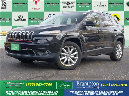 2016 Jeep Cherokee Limited (Stk: 21483A) in Mississauga - Image 1 of 26