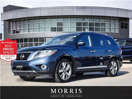 2014 Nissan Pathfinder Platinum (Stk: D07966A) in Winnipeg - Image 1 of 26