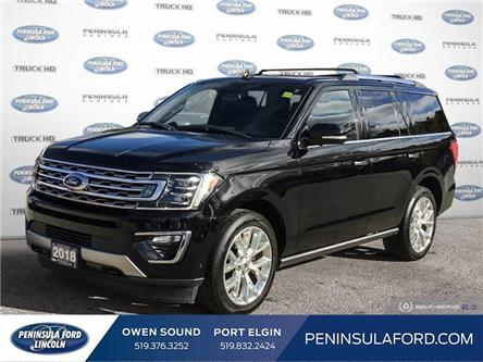 2018 Ford Expedition Limited (Stk: 22LI01A) in Owen Sound - Image 1 of 25