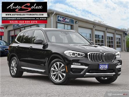 2018 BMW X3 xDrive30i (Stk: 784101G) in Scarborough - Image 1 of 28